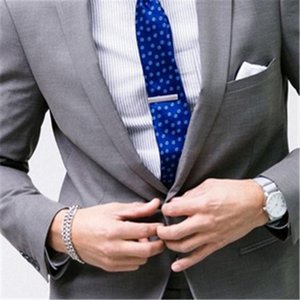 New Grey Wedding Suit For Men 2Pieces(Jacket+Tie+Pant) Tuxedos Groom Prom Tuxedo Trajes De Hombre Blazer Latest Design 681