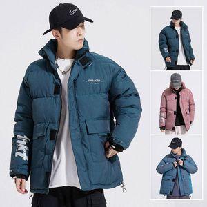 Winter Big Pocket-Cargo-Cotton-padded Jacken-Mantel-Parka Männer Art und Weise verdickt Warme Jacken Manteau Homme Blusa Inverno Masculina