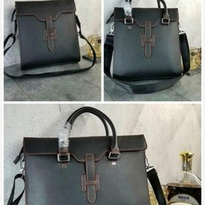libobo6 briefcase Handbag portable 2019 new 8053 Satchel MEN Leather Top Handles Shoulder Bags Crossbody Belt Boston Bags Totes Mini Bag