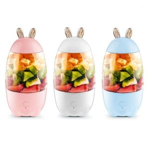 330ml Portable Mini USB Rechargeable Electric Juicer Bottle Fruit Blender Mixer A2UE1