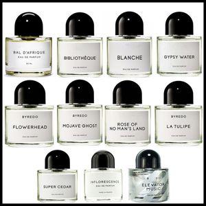 EPACK Известные тела Косметика 50мл Духи Eau De Parfum Spray Стеклянная бутылка Blanche Супер Ceder Gypsy Water High Quality
