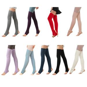 1 Pair Hot Women Girls Leg Warmers Socks Long Footless Socks Winter Autumn Dance Ballet Stockins 201012