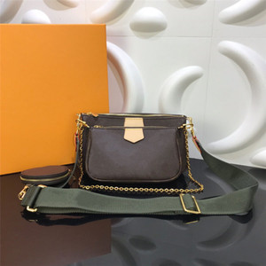 가장 좋아하는 멀티 포 셰트 액세서리 가방 5pcs l 꽃 패턴 가죽 스타일 숙녀 지갑 어깨 크로스 바디 가방