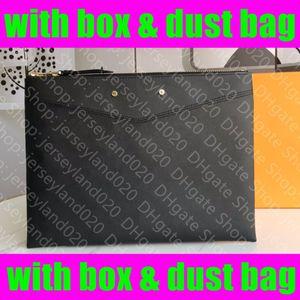 M62937 الحقيبة اليومية M62048 مصمم إمرأة مخلب مساء حقيبة الهاتف Pochette مضغوط الحقائب Accessoires Documents Organizer Etui Voyage