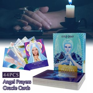 Angel Prayers Oracle Cards Tarot Game Fate Divination Card Set Portable Friend Party Poker Board Game Toy With Pdf Guidebook yxlwgO xhhair