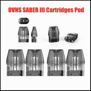 100% originale OVNS SABRI III cartuccia POD vuota vuoto 2.5ml POD Tank Easy Side Riempimento Regolazione del flusso d'aria precisa