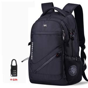 Mochila Swiss мужская Анти-кража USB ноутбука школа путешествия сумки водонепроницаемый бизнес 15,6 17 дюймов ноутбук рюкзак женщин