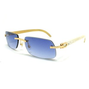 Ienbel Black Friday Buffalo Horn Luxus Keine hölzerne Sonnenbrille, Herns Sonnenbrille, Hern