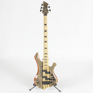 Alta qualità Neck Thru 5 Five String Bass Bass Guitar Spedizione gratuita