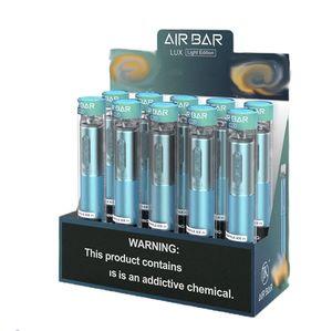JK Air Bar Lux Jaute Vape Stylo 1000 Puffs Batterie 500mah Batterie 2.7ml Pods Airbar Pods Fumée Extra Bang XXL Switch Bar Double Max Pro Rick VCAN