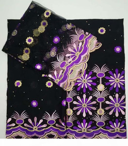 Embroidered Dubai Swiss Voile Lace 100% Cotton Fabric 2018 Simple Designs African Lace Fabrics High Quality Swiss Lace fabric
