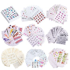 Nail Art Sticker Retro Styles Slider Watercolor Ink Ballet Dancing Women Accessoires Tips for Nail Polish 0386