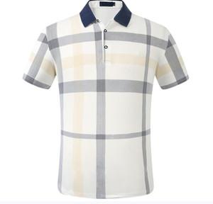 Großhandelsmarken-Männer Business Casual T-Shirt lange Hülse der Männer gestreifte dünne masculina soziale männliche T-Shirts neue Art und Weise Mann Karohemd