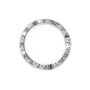 High Quality 316L Stainless Steel with Black Writings 38.6mm Watch Bezel for 116500