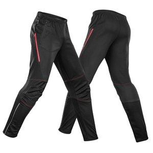 Lixada Мужчины Зима теплая Велоспорт штаны водонепроницаемый ветрозащитный термальной ватки езда Pant 2020 новый мужской Идущие SPORTWEAR Брюки