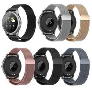 Magnetic Loop-Metal-Band Für Xiaomi Haylou Solar-LS05-Armband Edelstahl-Uhrenarmband-Mesh-Bandwechsel