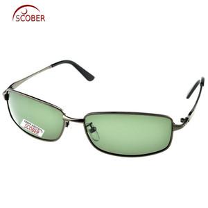 = Scober Custom Made Nearsighted Minus Prescription Large Full Rim Grey Google Mens Designers Polarized Sunglasses -1 To -6