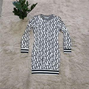 womens dresses sexy mini long sleeve dress one-piece set bodycon designer luxury pullover dress elegant high quality cubwear klw5323