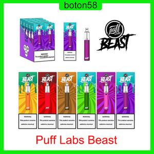 Puff Labs Beast Bar Disposable Device 1500 Puffs 1000mAh Battery 5ml Prefilled Pods VS Plus XXL Air Bar Lux 0268200
