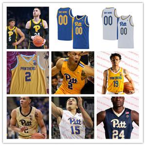 Pittsburgh Panthers Basket Ballsy Jersey Xavier Johnson Fexodukale Au'diese Toney Justin Champagnie Terrell Brown Max Amadasun Pitt Jersey