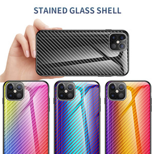 Case for IPhone 11 pro max 12 tempered glass mobile phone case Xs Max XR 8 7 6 plus IPhone SE mobile phone case
