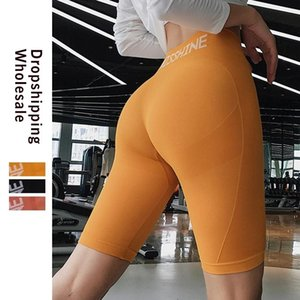 Leggings delle donne leggings Gym Leggings Spandex 3 Colore Breve Allenamento a vita alta Senza cuciture Sport Sport Fitness Short Scrunch Butt