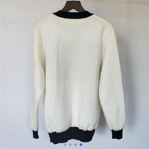 144 Winter Warm Sweaters Letter Vintage Womens Knitwear Pullovers Womens Cute Pink Sweaters Elegant Knit Sweater Pull Femme KEHK