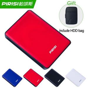 USB 3.0 HDD Disque dur externe Disque dur Mobile Disque dur Mobile 1TB 2TB pour PC / Mac TV incluent un cadeau de sac de disque dur
