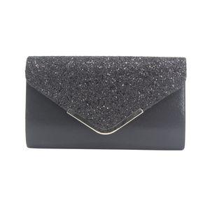 2021 Women's Glitter Shimmer Envelope Ladies Sequins Evening Party Prom Smart Jane Clutch Bag Handbag