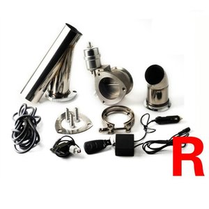 universal 2.5 inch 3 inch exhaust cutout remote control with vacuum actuator y pipe bypass exhaust cutout pipe VAR1