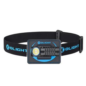 OLIGHT Perun MINI Kit 1000 Lumens Multi-use Compact Illumination Tool Reliable Right Angle Headlamp with Headband for Outdoor