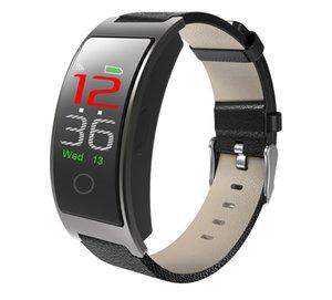 Mate de téléphone Smart Watch Smart Waterproof pour iPhone iOS Android Samsung LG Fitness Tracker Traqueur cardiaque Surveillance de la vitesse de la pression artérielle