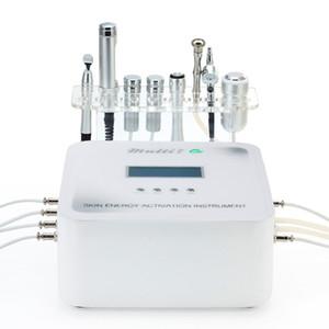 7 en 1 Máquina de electroporación de la mesoterapia libre de agujas multifunción Máquina de electroporación BIPOLAR RF Skin Lift Micro Derma Pen para el tratamiento de ANCE
