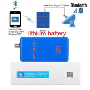 Original GTmedia V8 Finder BT05 satellite receiver 1080p bluetooth DVB-S2 satellite finder with lithium upgrade freesat bt01 BT03
