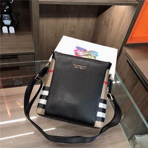 Новые поступления luxurys дизайнеры мешок BBR кожа молния Clutch Женщины Мужчины сумочек сумка плеча сумку 29 * 27