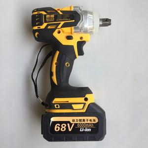 Clé brushless électrique sans fil d'impact clé à douille 380N / M 6000mAh Li Installation perceuse à main Batterie Outils électriques Y200323