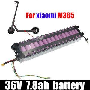 Batterie 36V Paquet de batterie 36V 7.8Ah Batterie de scooter pour Xiaomi M365 Scooter électrique 10S3P xiaomim365 batterie de lithium de haute qualité