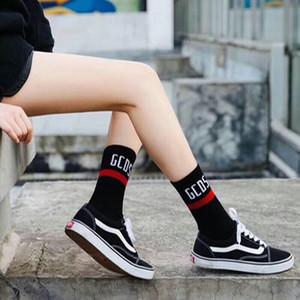 3 pares de chicas calcetines deportivos de algodón de longitud media calcetines de alto tubo gcds cartulina