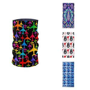 Summer Women 3D Fashion Print Ring Scarf Microfiber Seamless Tubular Hijab Scarf Magic Bicycle Mask Bandana braga cuello buffe