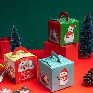Evento di Natale Evento Evento Forniture per imballaggio Boxes Fata Design Papercard Regalo di Natale Contenitore Della Frutta Creativo Commercio all'ingrosso del bambino Regalo GRATUITA