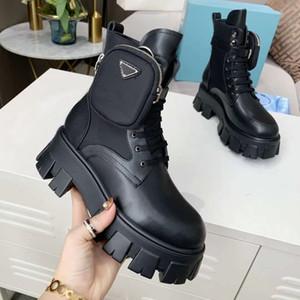 2020 autunno inverno Martin donne stivali Designer Shoes Lettera pelle scamosciata con tacco stivali di metallo modo delle signore stivaletti grandi dimensioni 41