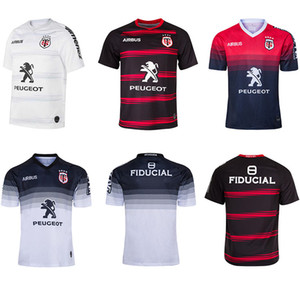 2020 Toulouse Home Rugby Jersey 2019 Stade Toureuola Toulouse Rugby Jerseys League Jersey Tluth Camiseta Lazer Esportes