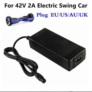 Chargers 42V 2A Universal Battery Charger for Hoverboard Smart Balance Wheel 36v electric power scooter Adapter Charger EU US AU UK Plug
