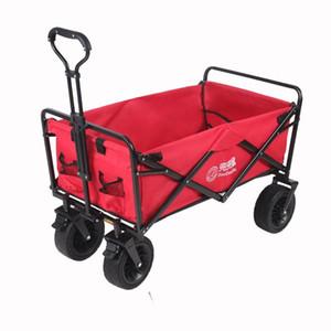 Cubiertas de asiento de coche para perros Camuflaje de acero inoxidable Cochecito de mascotas Carrito de compras plegable portátil Carrito de cuatro ruedas para la pesca para acampar al aire libre