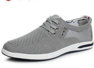 Jeesina Men Sport Trail Running Tennis Walking Shoes