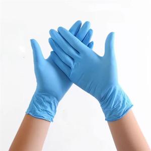 مقاومة للارتداء قفازات مرنة الزرقاء المتاح حماية البيئة العمل القفازات الواقية التنظيف المنزلية واقية من الغبار قفازات T3I5703