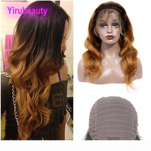 Malaysian Human Hair Lace Front Wig 1B 30 Ombre Hair Body Wave Lace Front Wig 10-24inch 1B 30 Hair Products