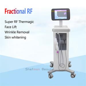 Nouveau professionnel Thermage fractionnel RF machine de rajeunissement de peau lifting visage Raffermissement rides enlèvement Anti vieillissement Salon Spa utilisation