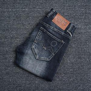 Italian Style Fashion Men Jeans Top Quality Black Blue Color Slim Fit Ripped Jeans Streetwear Hip Hop Vintage Designer Men