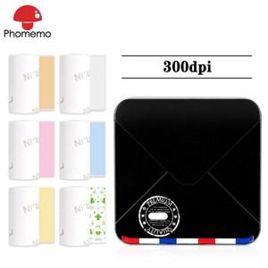 PhomeMo M02S Мини Термический принтер Портативный 300DPI Фотопринтер для Phone Pocket Pocket Портативные Мобильные Bluetooth Этикетки Этикетки1
